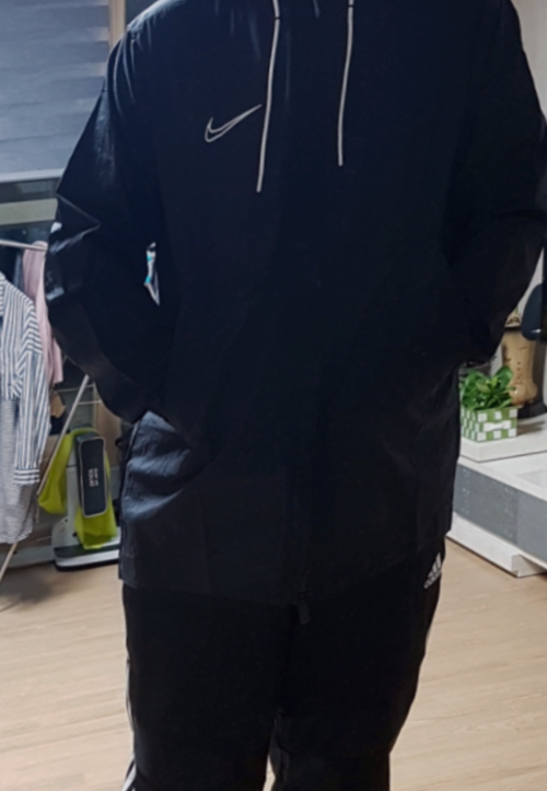 가성비 최고인 나이키바람막이 나이키 드라이 아카데미 19 레인 자켓 (AO1512-010) 구매 후기~!