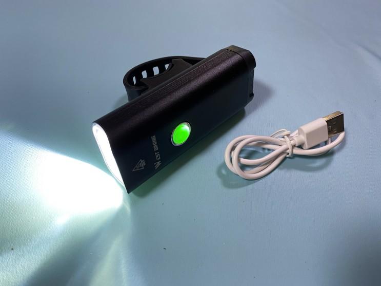 USB 충전식 초등학생 자전거 전조등 추천