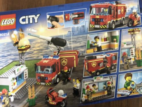 가성비 갓 레고 레고 시티 햄버거 가게 화재 구조 완구 60214 사용기!!