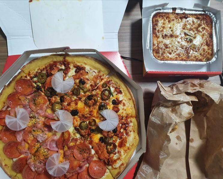 [배달의민족] 영등포 피자와 스파게티 치킨이 맛있는 왕손피자 영등포점! 영등포구청역 피자 배달 맛집!