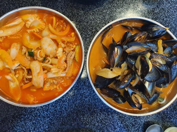[영등포구청역] 영등포 짬뽕 찐 맛집 짬뽕의신화! 진한 돼지고기짬뽕과 시원한 홍합짬뽕 그리고 찹쌀 탕수육!! 내돈내산 후기!