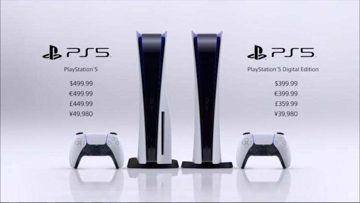 소니 차세대 콘솔 게임기 PS5 가격 , 출시일 공개 ( SONY PLAYSTATION 5 SHOWCASE )