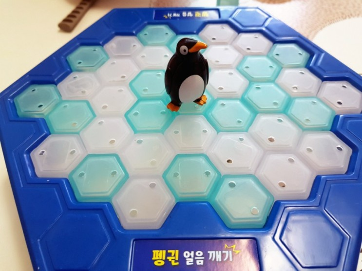 펭귄 얼음깨기로 즐겁게 집콕 놀이