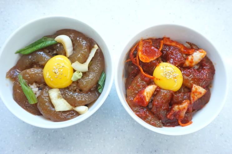 변산반도횟집 한국인의밥상출연 새우장으로 새우장덮밥 만들기