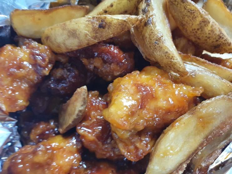[배달의민족] 목동 배달되는 시장 닭강정! 치킨 맛집 복골닭강정 배달 내돈내산 후기!