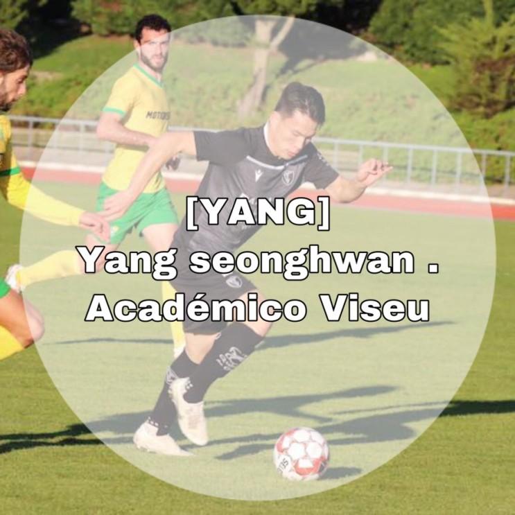 [YANG] Yang seonghwan . Académico Viseu