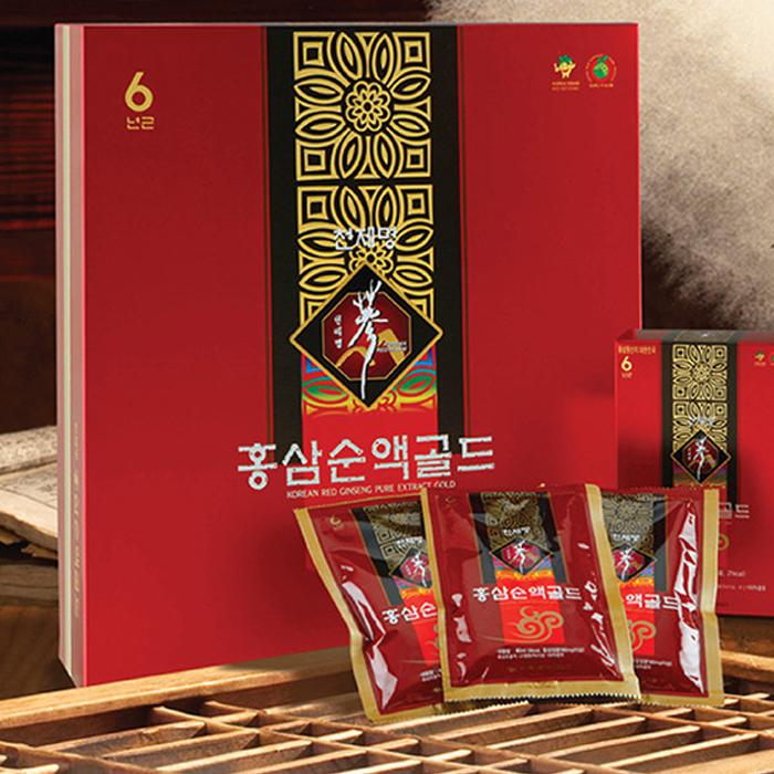 천제명홍삼 순액 골드60p 설선물세트