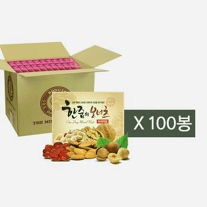 [후추통]한줌의보너츠프리미엄20g x 낱봉100봉[가든포레스트] (50,900원)