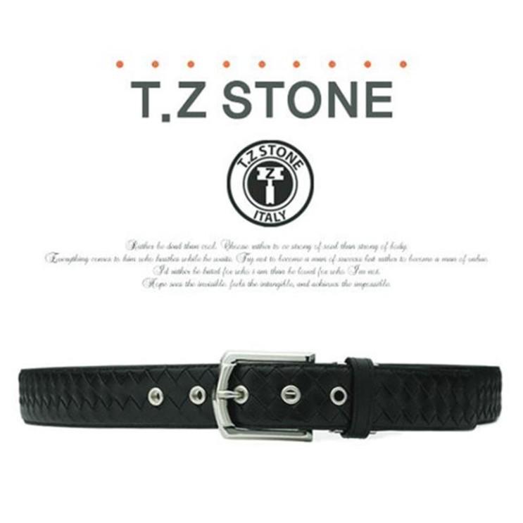 [티지스톤] TZ1D119BK 핸드메이드 메쉬블랙벨트 (94,600원)