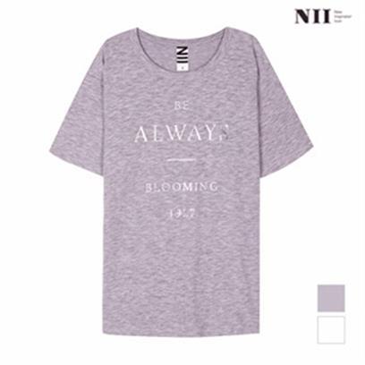 [겨울최대할인][NII] 여성 그래픽 루즈핏 티셔츠_2NNYARTM3441 (5,700원)