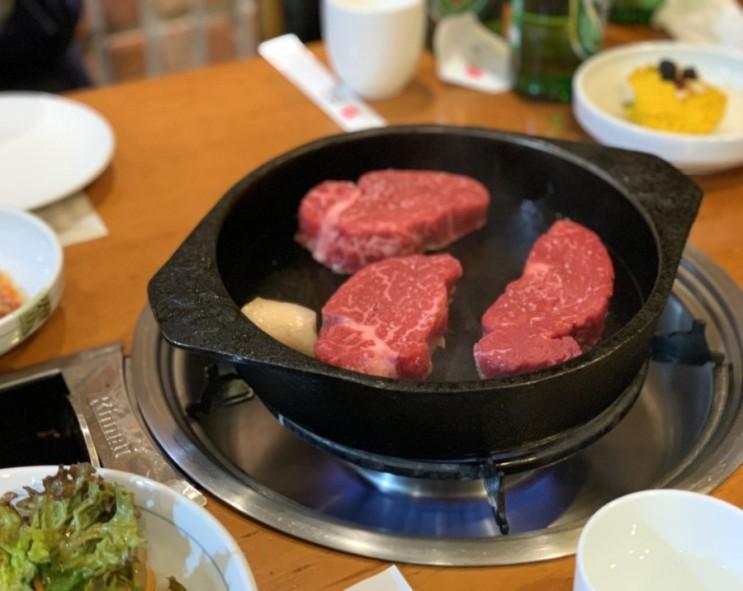 [광화문 맛집] 민소한우 광화문점, 최상급 소고기를 제공하는 숙성한우 전문점! 콜키지도 가능:)