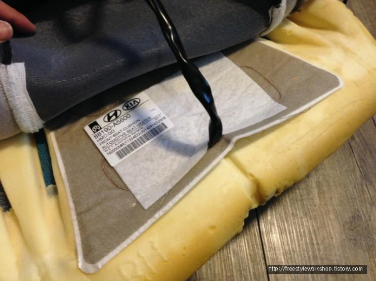 i30 GD 열선 시트 수리 (온도 높이기)
