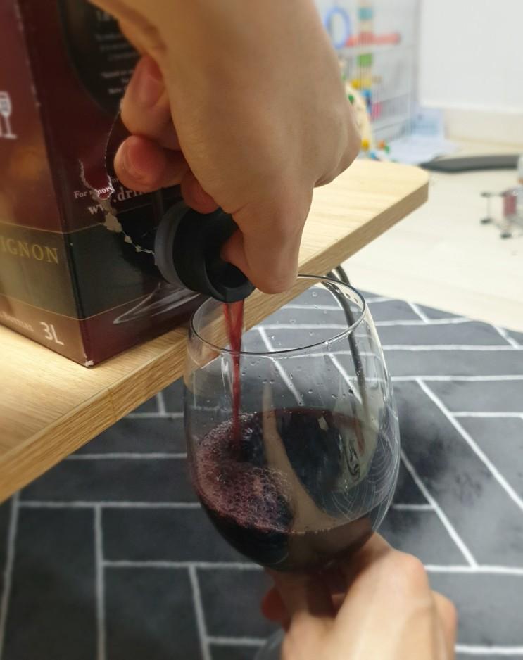 쟁여두고 먹기 좋은 3리터 박스 와인 하디스  Hardys (Hardys Reserve Cabernet Sauvignon)