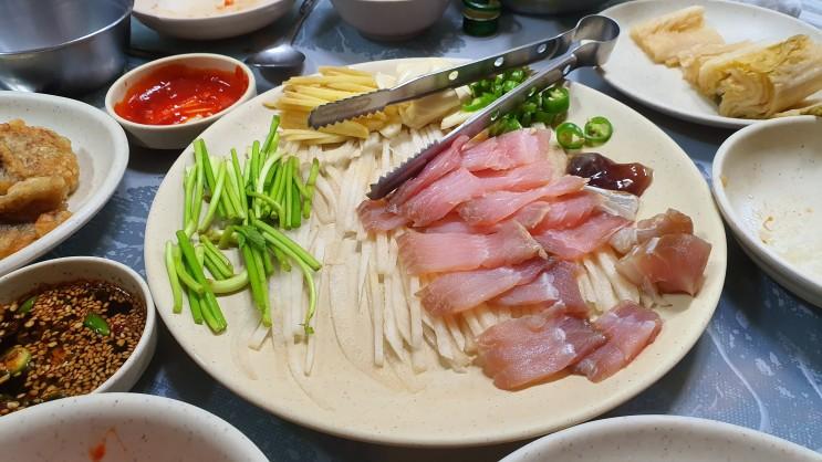 천안 홍어 맛집 1순위 : 개코막걸리 그리고 김치찌개