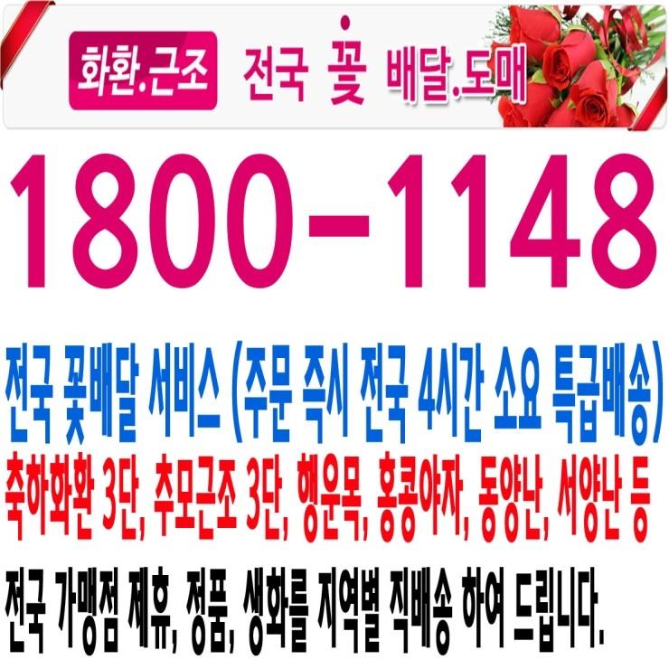 한도병원장례식장 근조,화환,조화,꽃배달 1800-1148