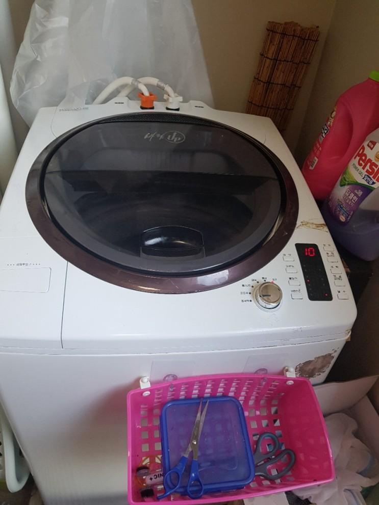 인천청라세탁기청소 드럼세탁기,통돌이세탁기 분해청소 전문