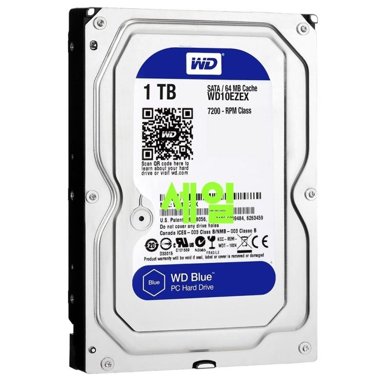 나만없는 하드디스크1tb - 10가지 -WD HDD 3.5 1TB, 4, 1048576MB