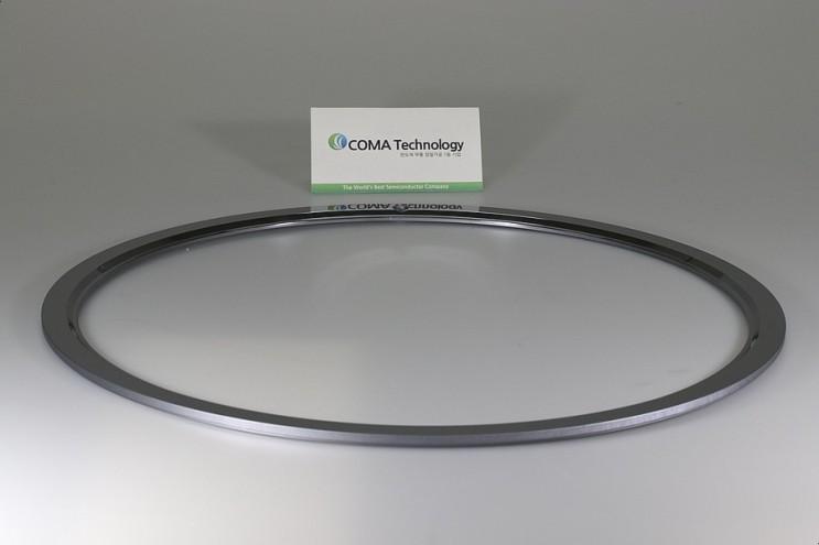[(주)코마테크놀로지] LAM 716-040738-427 HOT EDGE RING (실리콘, 실리콘가공, 실리콘 포커스링, 실리콘 캐소드)