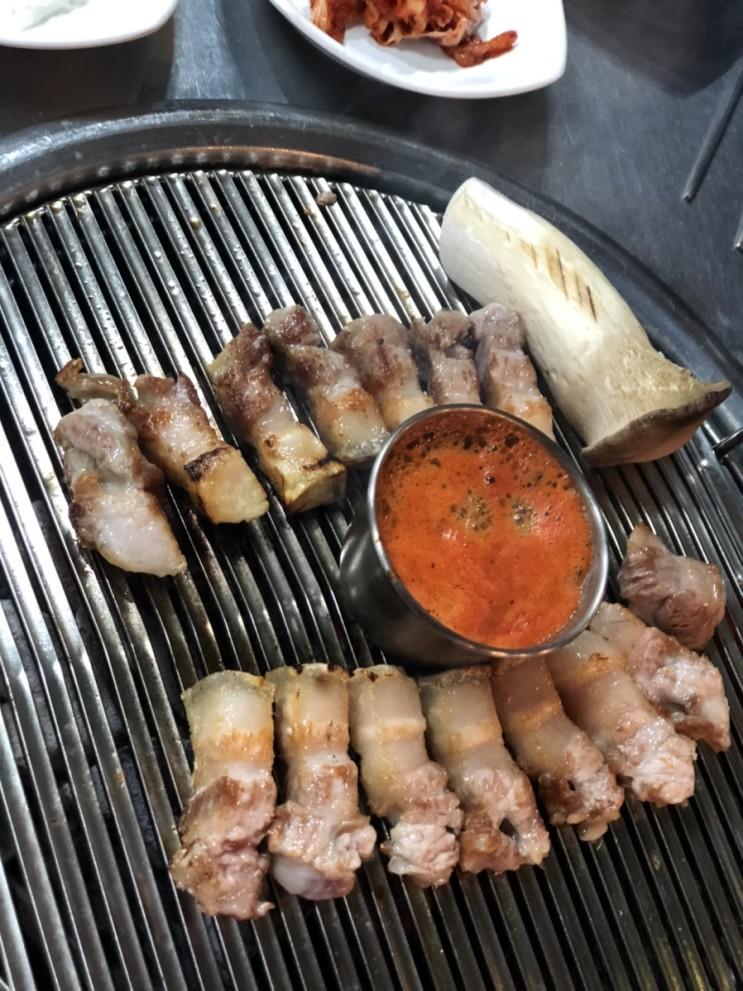 서귀포흑돼지맛집:)흑돼지가 맛있는 '통큰흑돼지'