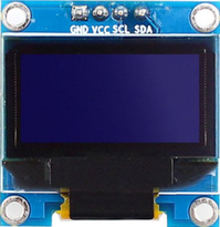 아두이노에서 0.96인치 OLED 모듈 사용하기