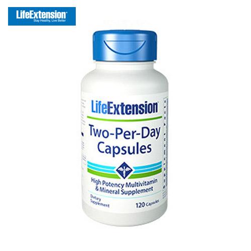 Life Extension 라이프 익스텐션 투 퍼 데이 120캡슐 1개