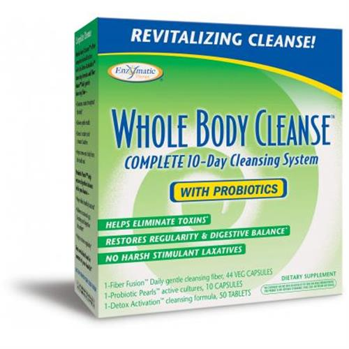 Enzymatic Therapy  Whole Body Cleanse 1kit 본품선택