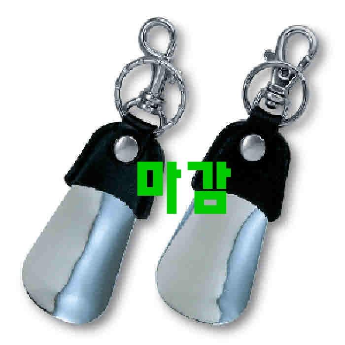 단 하루의 기적상품 휴대용구두주걱 - 10가지 -삼우상사 SS-106 가죽 손잡이 포켓 소헤라, 2개