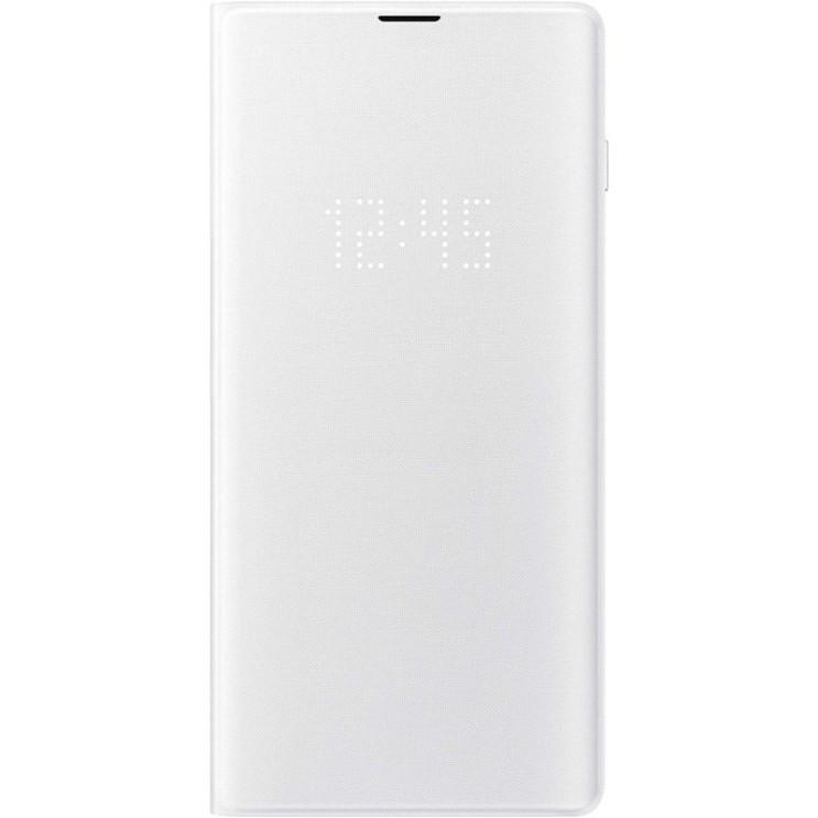 갤럭시플립관련 -Samsung 공식 Original LED View Flip Cover Case for Galaxy S10e / S10 / S10 + (Plus) (흰색 Galaxy, 1, 단일상품