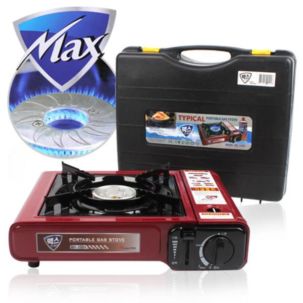 맥스 MS 1246 휴대용 가스렌지 2500 가스렌 버너 DH 본품선택