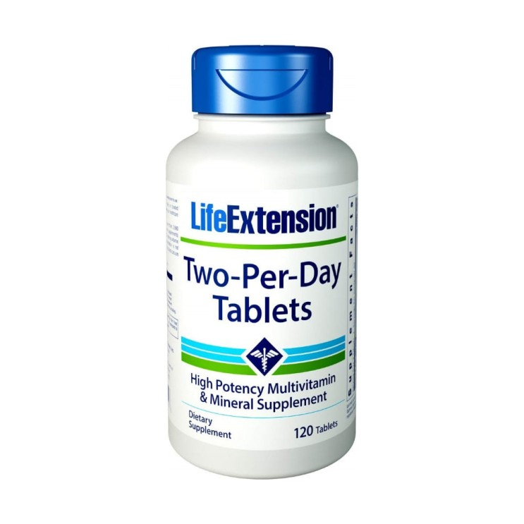 Life Extension Two Per Day 라이프 익스텐션 투 퍼 데이 120타블렛 단일상품
