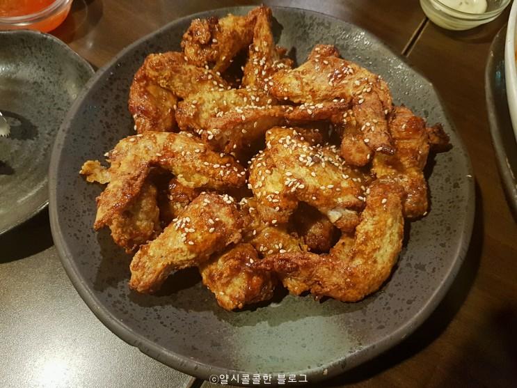 연수동 치킨 튀김옷을 입혀 구운 오븐에빠진닭