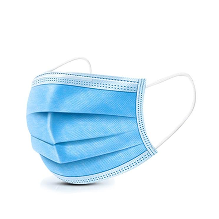 Avecnous 일회용 마스크 50매 3중필터 성인용 3단접이식