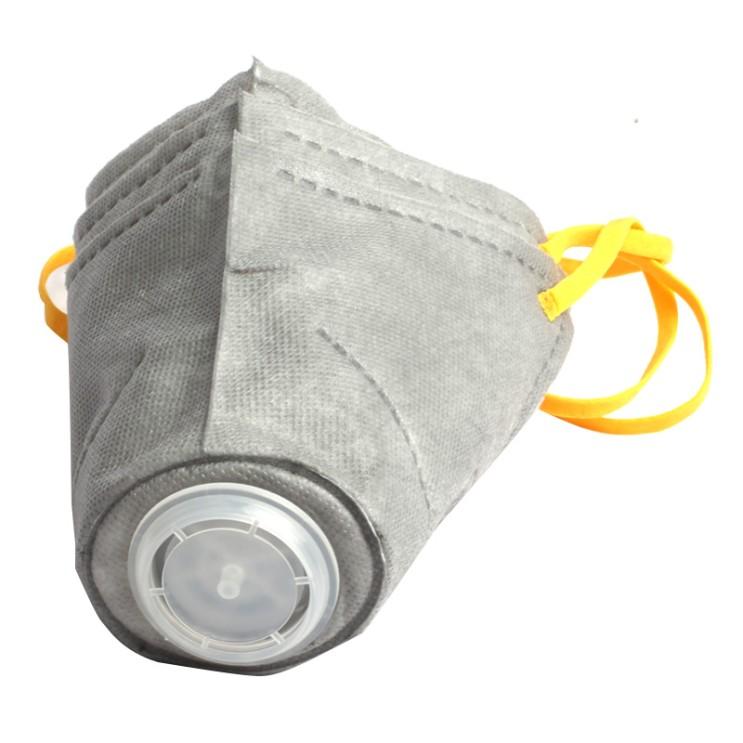 호흡기 감염 방지 개입커버 마스크, 그레이, S (박스당 3 개)