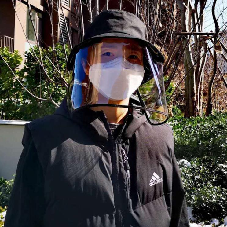 세일신우 마스크 모자 방역 벙거지 모자
