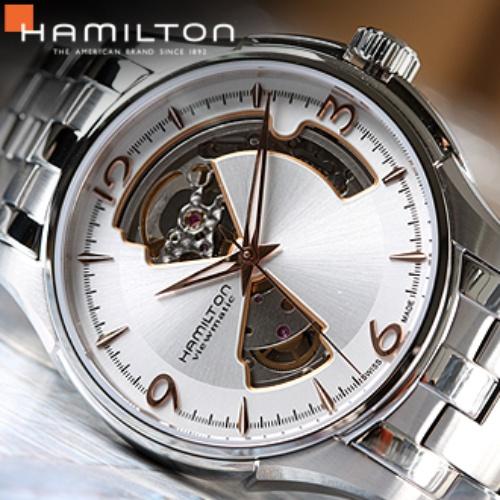 명품 시계 정보 [HAMILTON] 해밀턴 H32565155 재즈마스터 오픈하트_74 해밀턴 추천제품입니다.