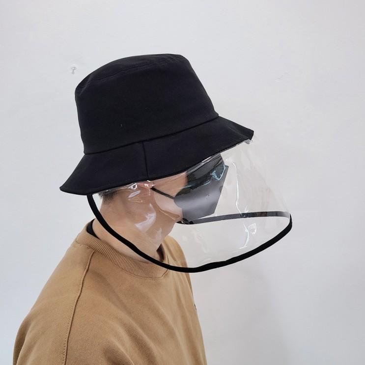 코로나마스크, 손세정제 : 와이룸 국내생산 남녀공용 모자 방역모자 : 코로나19 예방