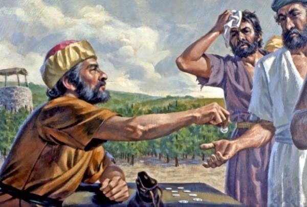 포도원 일꾼 품삯 집주인 비유(마태복음 20:1-16) : 네이버 블로그