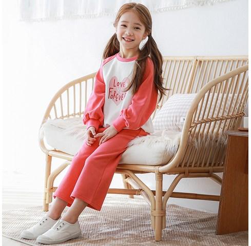 캐주얼세트 유명브랜드 빌리진 아동용 포에버 상하세트 제품추천