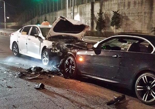 부천 원미동 만취상태 음주운전 BMW차량 역주행 사고로 60대 택시기사 사망