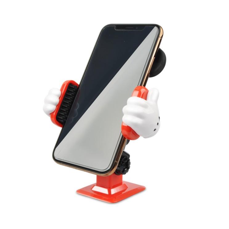 훠링 미키마우스 각도조절 스마트폰 거치대 디즈니 차량용품, 1개, 미키 각도조절 스마트폰 거치대 추천해요