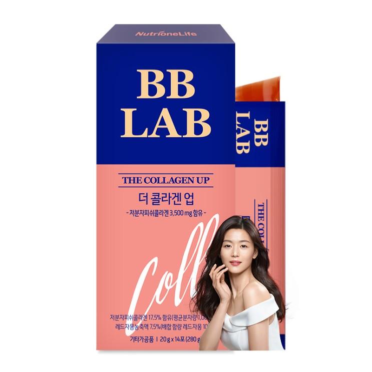 뉴트리원 전지현 CF 비비랩 피부 탄력 건강한 콜라겐 젤리(자몽맛) 저분자 피쉬콜라겐 자사최대함량 3500mg 더 업 젤리, 1box 추천해요