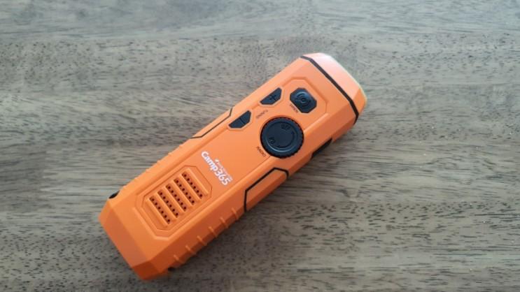 프레퍼족 재난용 자가발전 라디오 camp365 5in1 리뷰