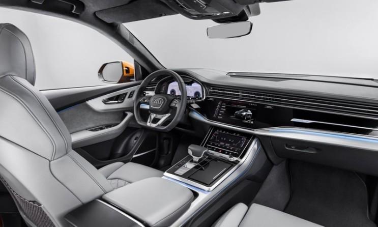 2020 아우디(audi)Q8 / 플래그십 SUV 출시 외장(익스테리어)/내장(인테리어) 디자인 공개, 가격 1억 250만원