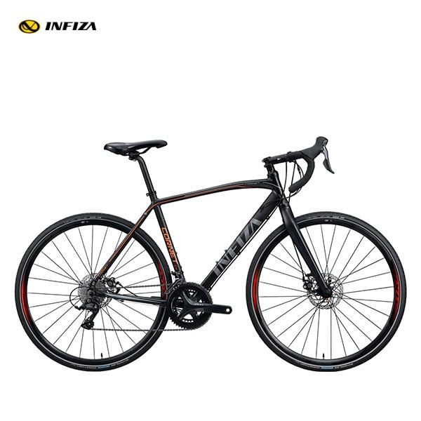 알톤 인피자 싸이클크로스 코넷CX 풀소라 카본포크 로드 자전거 인피자 코넷CX 블랙