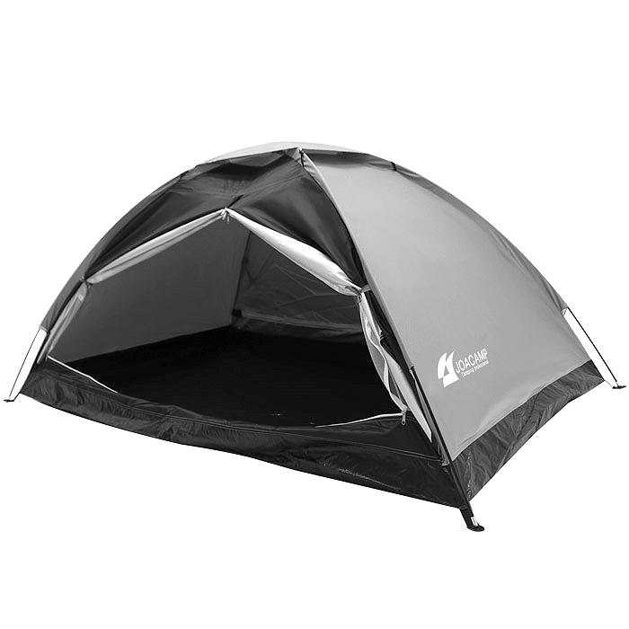 (로켓배송)조아캠프 돔형 텐트, 블랙, 1~2인용 추천해요