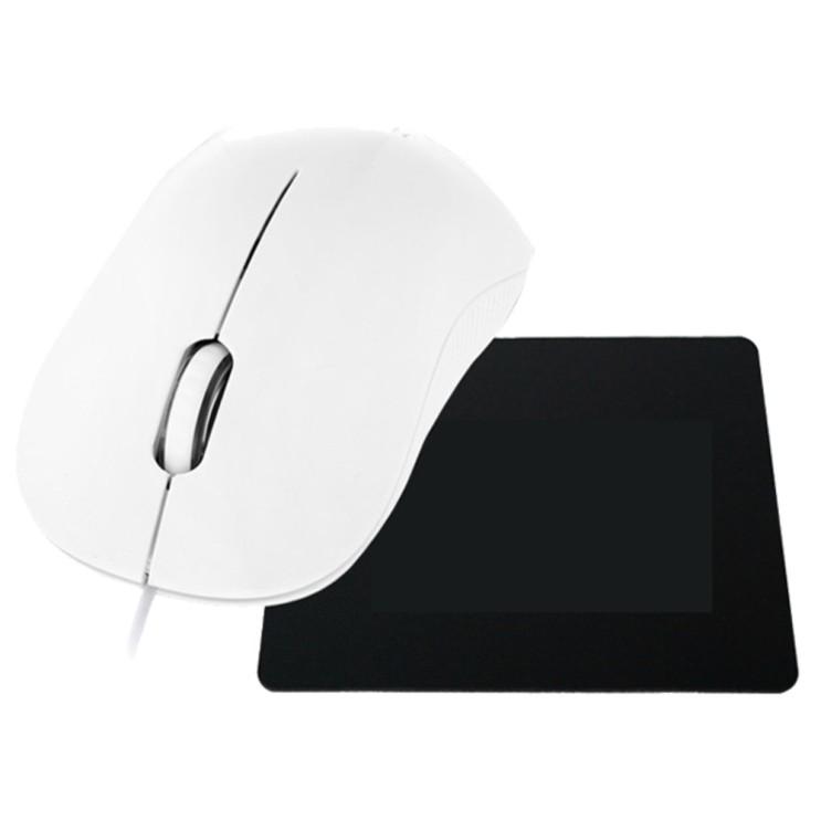 현대 무소음 옵티컬 마우스 HDM5500  마우스 패드 Black GSMP2 HDM5500 GSMP2 White