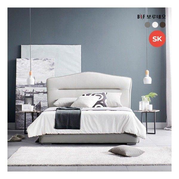 [보루네오] SALE[SK] 클린트 이태리 라텍스탑 침대, 색상:월넛 추천해요