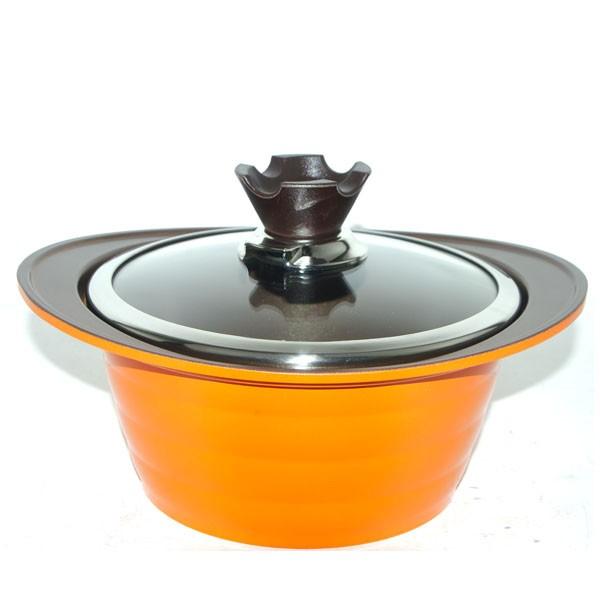 (로켓배송)에코린쿡 통주물 깊은냄비 양수 + 뚜껑, 22cm, 혼합 색상 추천해요