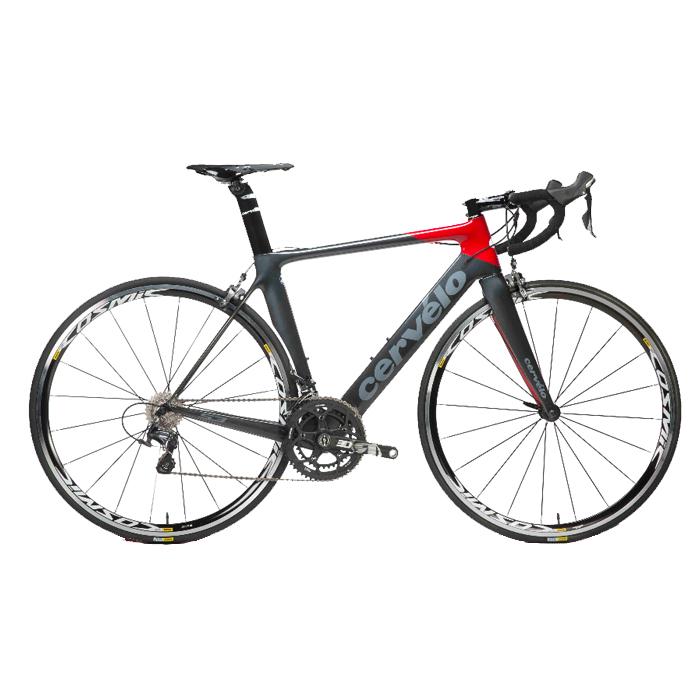 서벨로 S3 에어로 풀카본 울테그라 6800 로드 자전거 블랙레드