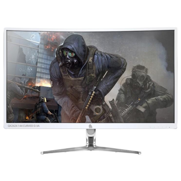 [내가 선택한 이유] 144HZ 모니터  - 큐닉스 24형 Full-HD 게이밍  (With '욱토크' 소식)